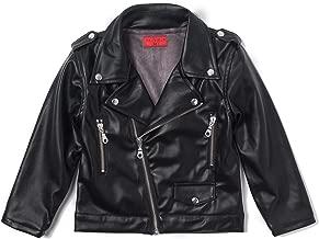 Haus of JR Lex Biker Jacket (Black Leather)-Unisex