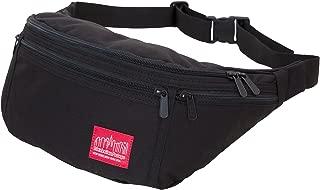 Alleycat Waist Bag with Zipper, Black, One Size