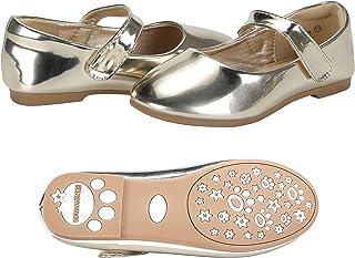 b4b112c26060 Amazon.com  Gold - Shoes   Girls  Clothing