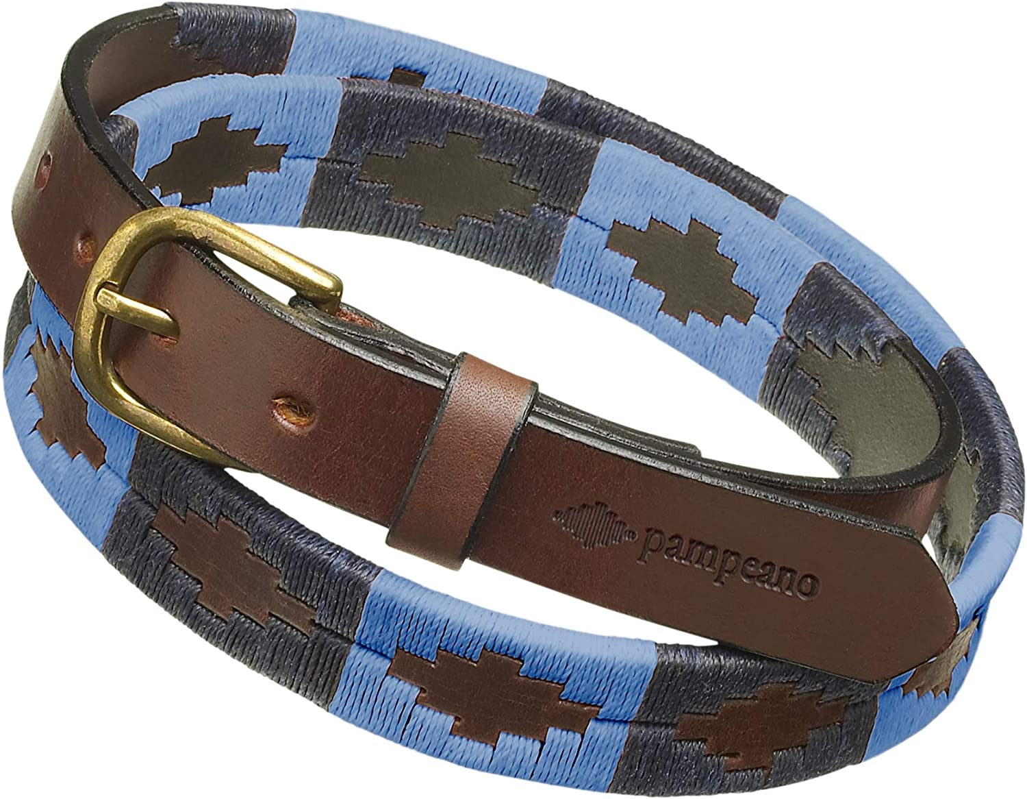 Azules Premium Argentine Leather Handcrafted B All stores are sold Belts Kansas City Mall Gift - Polo