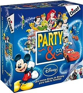 Diset- Disney Juego Party, 27.2 x 26.7 x 8.9 (46504