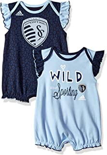 Outerstuff MLS Newborn & Infant Team Sparkle 2 Piece Bodysuit Set