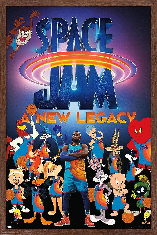 Los Regular dealer Angeles Mall Trends International Space Jam: A New Poster Team Legacy - Wall