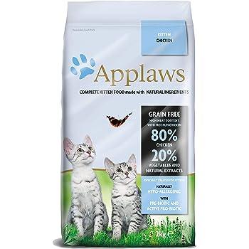 Applaws Dry Cat 9100938 - Katzenfutter, Hähnchen, 2 kg