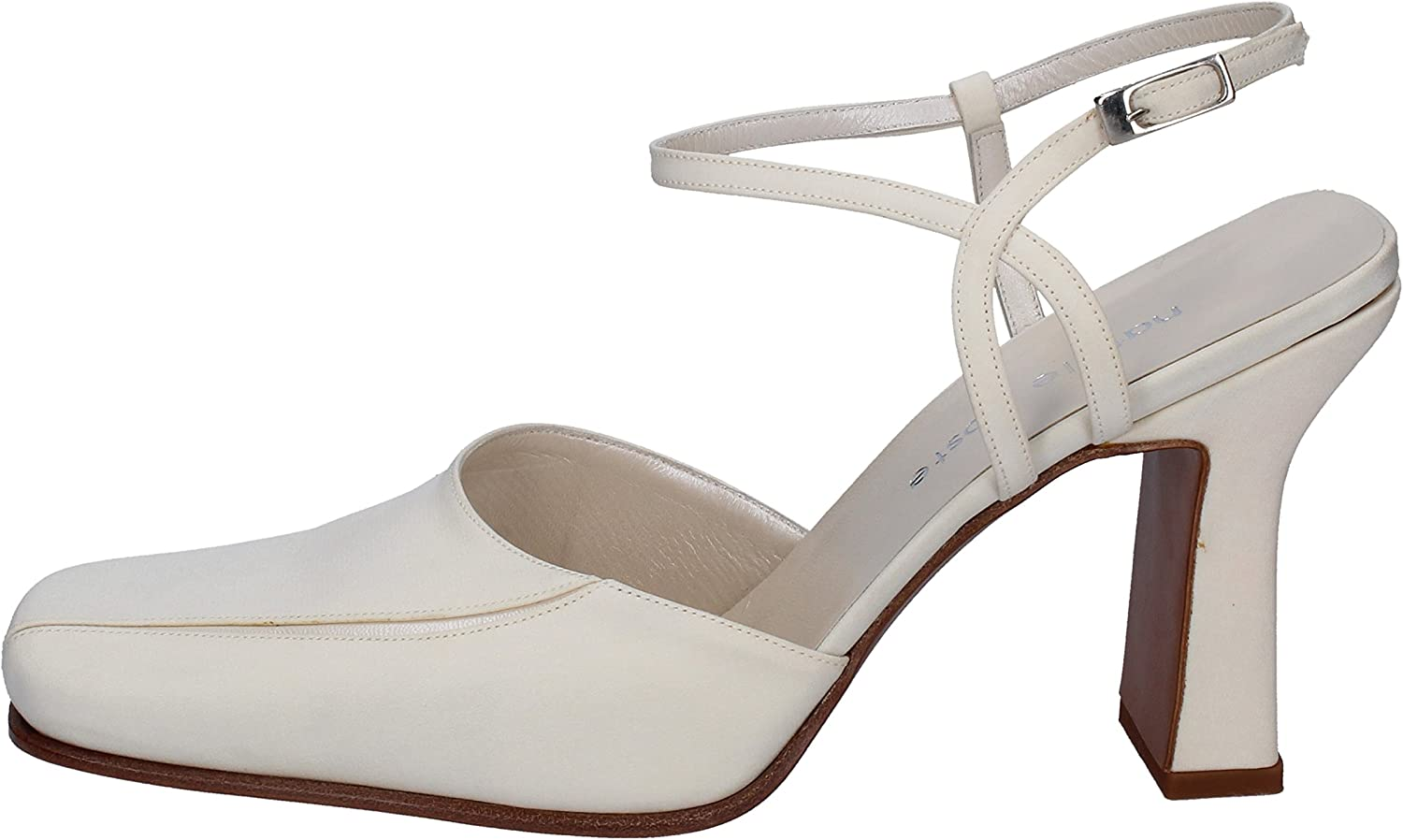 NATALE COSTE Pumps-shoes Womens Leather White 10 US