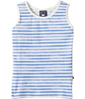 Toobydoo - Watercolor Blue Stripe Tank Top (Toddler/Little Kids/Big Kids)