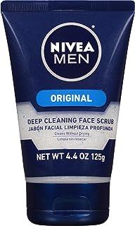 NIVEA Men Original Deep Cleaning Face Scrub 4.4 Ounce