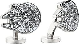 Star Wars™ Millennium Falcon Blue Print Cufflinks