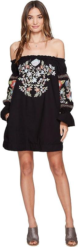 Free People - Fleur Du Jour Mini Dress
