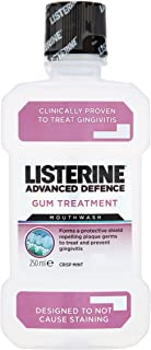 Listerine 250 ml Crisp Mint Advanced Defence Gum Treatment Mouthwash by Listerine