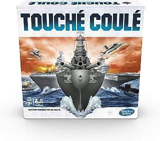 Hasbro Gaming Touché-Coulé - Jeu de societe de bataille navale - Jeu de stratégie - Version française