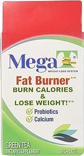 MEGA-T Green Tea Caplets with Probiotics and Calcium - 30 ct