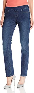 Jag Jeans Women's Peri Pull On Straight Leg Jean