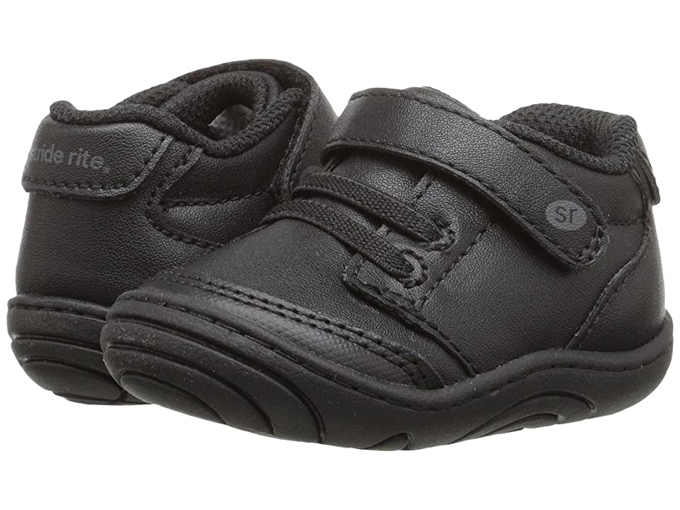 Stride Rite Taye (Infant/Toddler) (Black Synthetic) Kid