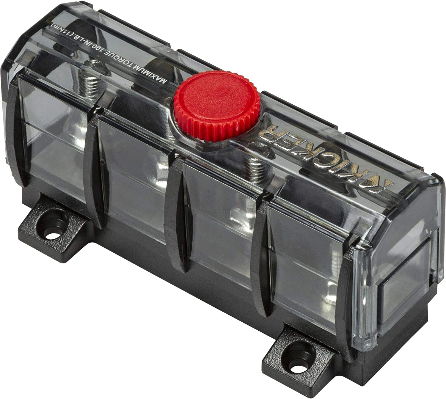 KICKER 47KMFDB3 ABYC Compliant Fuse Distribution and Holder Limited price Be super welcome sale Bloc
