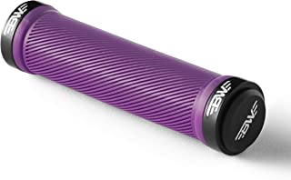 purple lock on mtb grips
