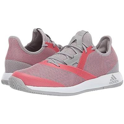 adidas adizero Defiant Bounce (Light Granite/Shock Red/Footwear White) Women