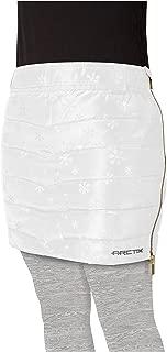 Arctix Girls Powder Puff Snow Skirt, White, X-Small