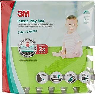 3M Puzzle Children Playmat, Green