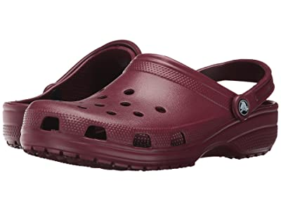 Crocs Classic Clog (Garnet) Clog Shoes