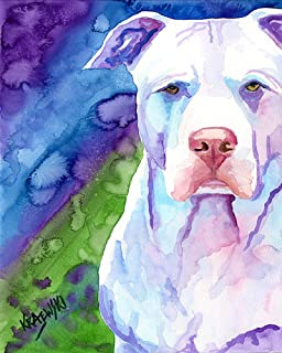 """Pitbull Art Print 