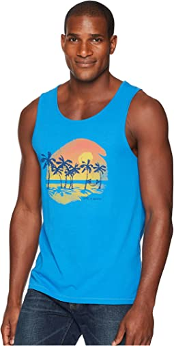 Life is Good Hammock Paradise Smooth Surfer Tank