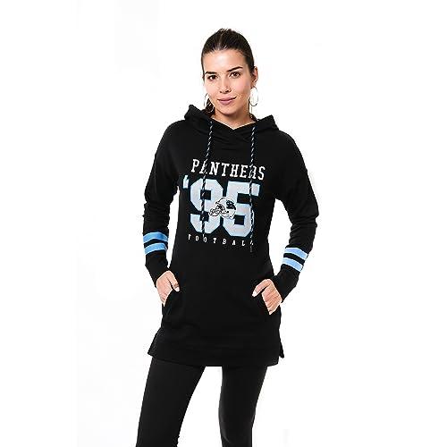 6c2f09d46 Icer Brands NFL Women s Tunic Hoodie Pullover Sweatshirt Terry