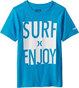 Hurley Kids Surf and Enjoy Tee (Little Kids)