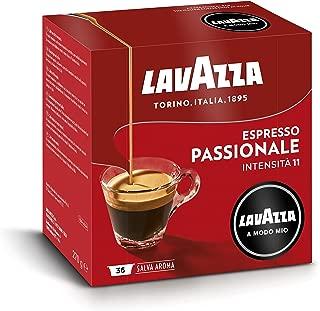 Lavazza Capsule Caffè A Modo Mio Espresso Passionale - 5 confezioni da 36 capsule [180 capsule]