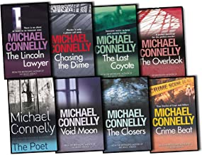Michael Connelly Collection 16 Books Set Closers, Lincoln Lawyer, Trunk Music, Echo Park, Overlook, Chasing the Dime, Dark...