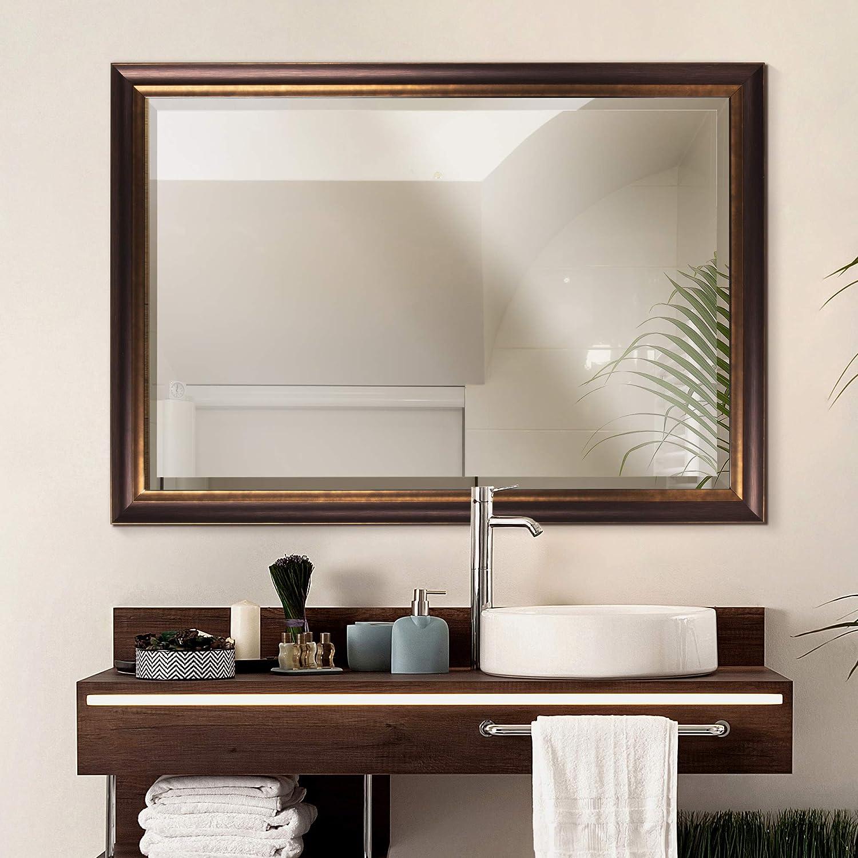 Buy Head West Oil Rubbed Bronze Mirror 28 By 40 Inch Online In Taiwan B00l2pjnic