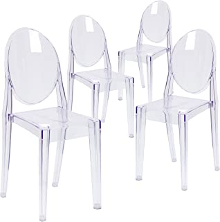 Best stackable ghost chairs Reviews