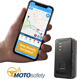 $69 » MOTOsafety Mini Portable Real Time Location Personal GPS Tracker to put in a backpack, luggage, purse, tool boxes for adul...