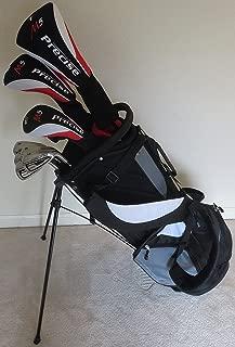 Tall Mens Golf Set Driver, Fairway Wood, Hybrid, Irons, Putter Clubs & Stand Bag +1