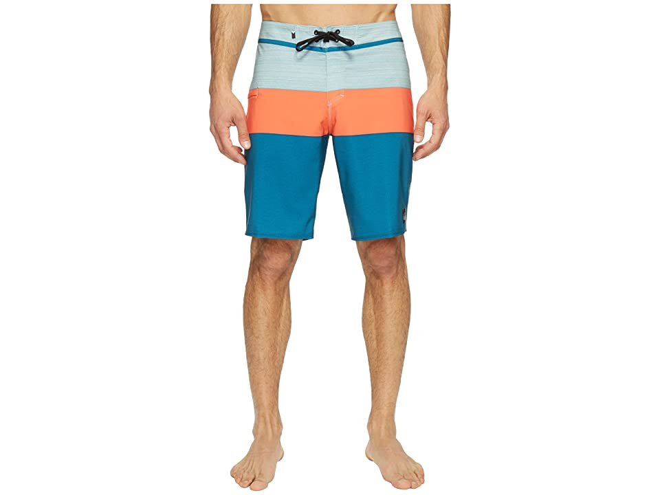 Quiksilver Everyday Blocked Vee 20 Boardshorts (Moroccan Blue) Men
