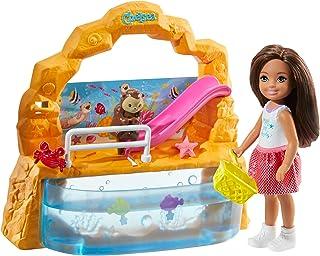 Barbie, Chelsea Akwarium Zestaw Do Zabawy + Lalka I Akcesoria GHV75