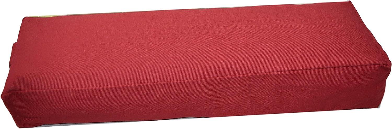 65 x /Ø 22 cm Buchweizenschalen-gef/üllt Tvamm-Lifestyle Yoga-Bolster Special