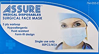 Assure Face Mask, 50ct