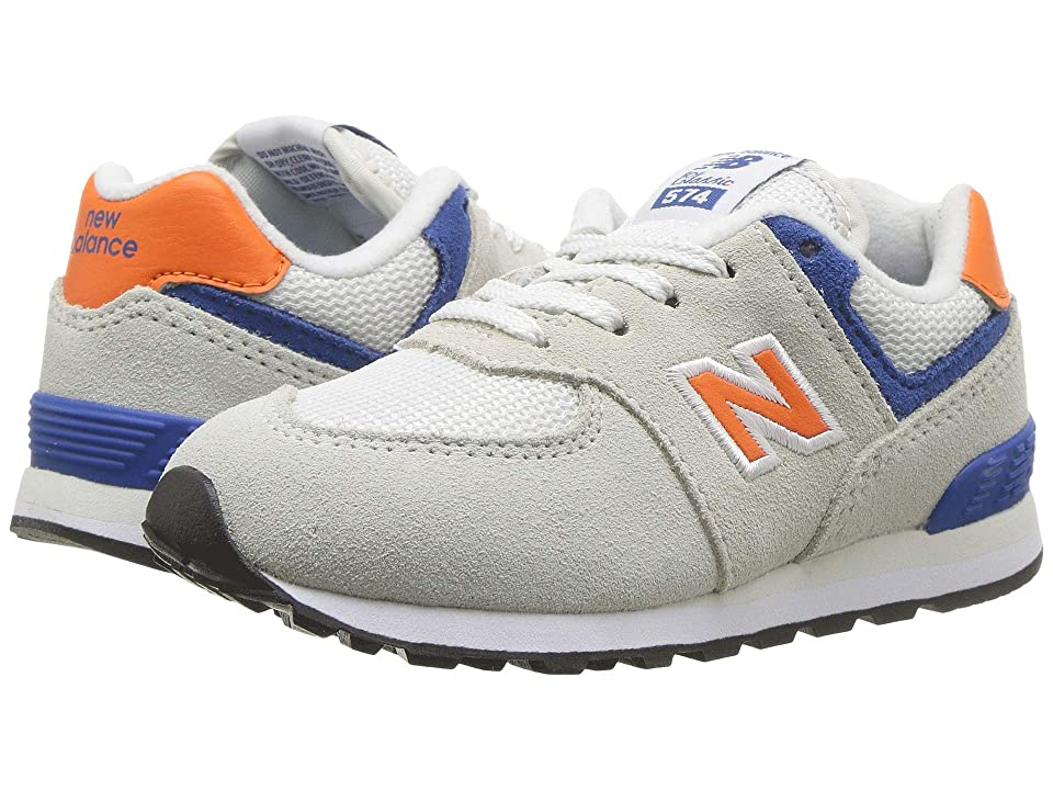 New Balance Kids IC574v1 (Infant/Toddler) (Nimbus Cloud/Bengal Tiger) Boys Shoes