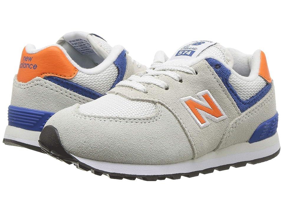 New Balance Kids IC574v1 (Infant/Toddler) (Nimbus Cloud/Bengal Tiger) Boys Shoes