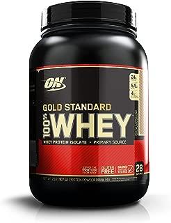 OPTIMUM NUTRITION GOLD STANDARD 100% Whey Protein Powder, Mocha Cappuccino, 2 Pound