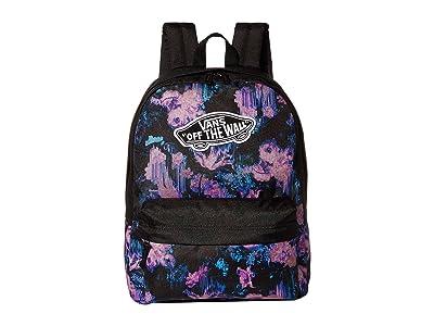 Vans Realm Backpack (Drip Floral) Backpack Bags