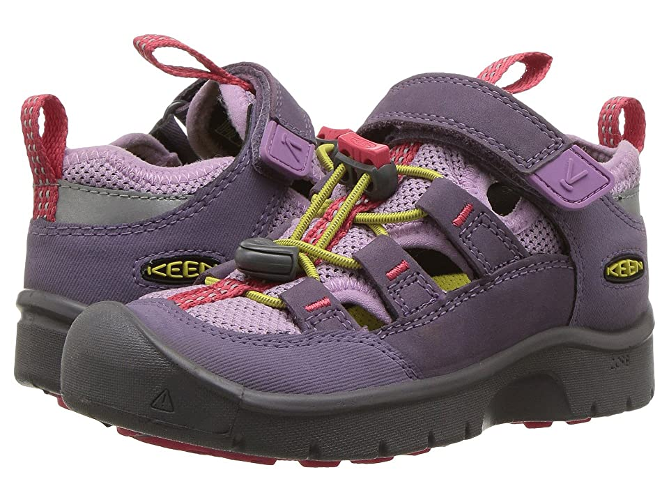 Keen Kids Hikeport Vent (Toddler/Little Kid) (Montana Grape/Teaberry) Girl
