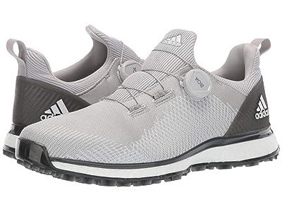 adidas Golf Forgefiber Boa (Grey Two/Footwear White/Grey Six) Men
