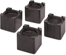 Whitmor Wood Bed Risers - Espresso (Set of 4)