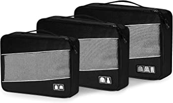 Defway Packing Cubes Travel Luggage Organizers