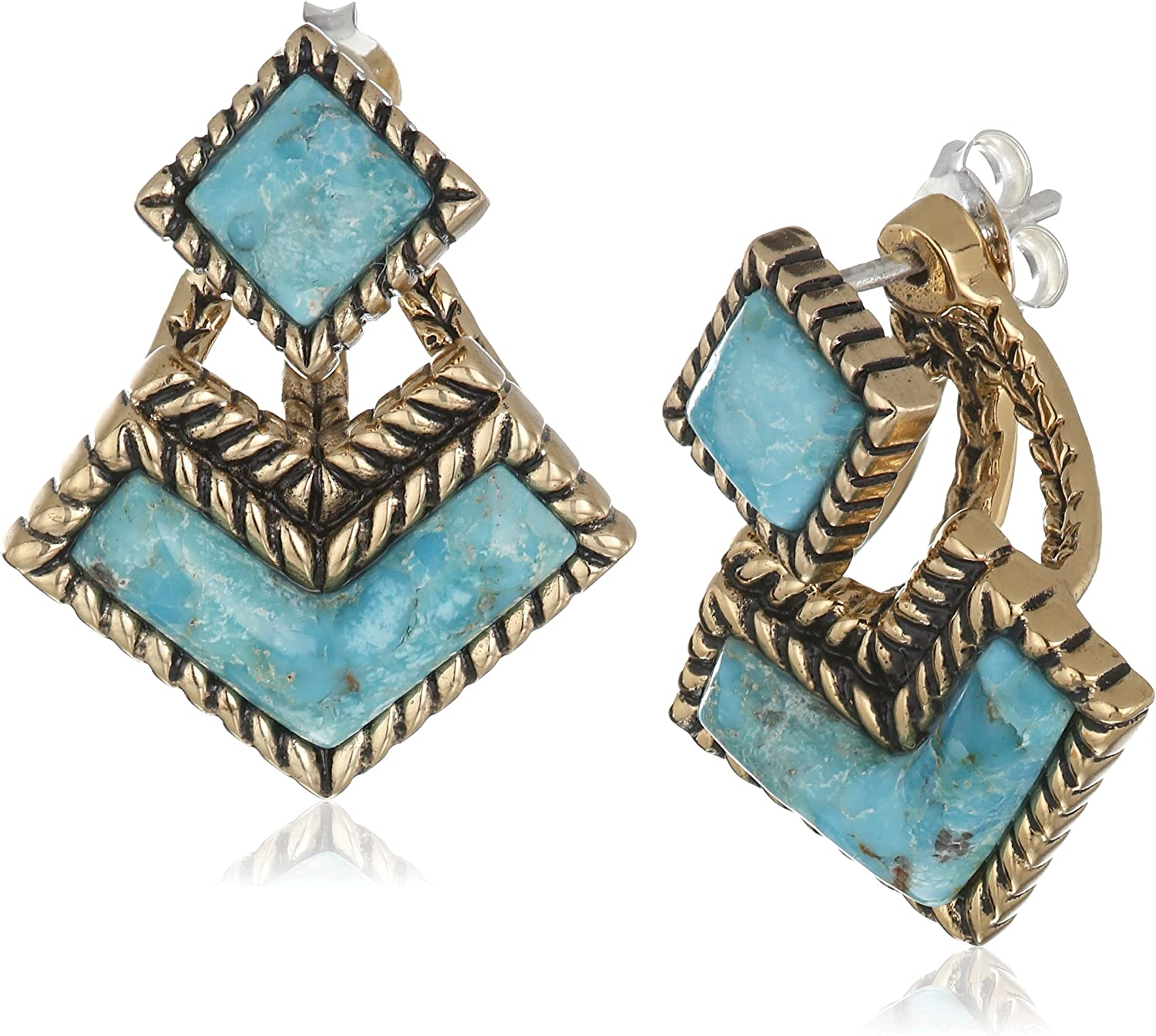 Barse Bronze and Post Earring Jackets