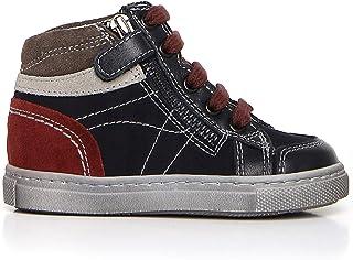 Nero Giardini A724352M Sneakers Primi Passi Bambino in Pelle E Camoscio