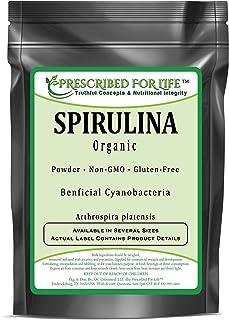 Spirulina - Organic Cyanobacterium or Blue-Green Algae Powder (Arthrospira platensis), 5 kg
