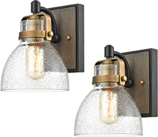 modern rustic sconces